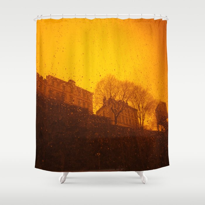 Stockholm The Heights Of Sder South Shower Curtain