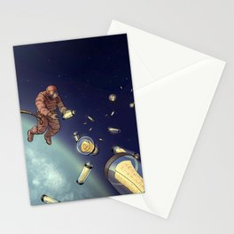 Messages from Space Stationery Cards
