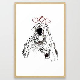 Ruler Of Love Framed Art Print