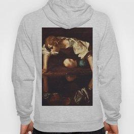 """Michelangelo Merisi da Caravaggio """"Narcissus"""" Hoody"""