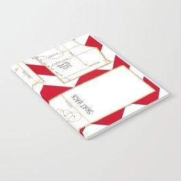 Seaside Stripes Slopers Notebook