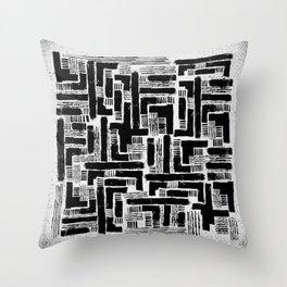 Cross Current Throw Pillow