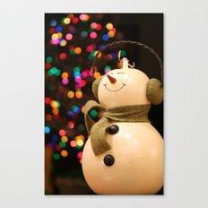 Christmas Makes Me Smile Canvas Print