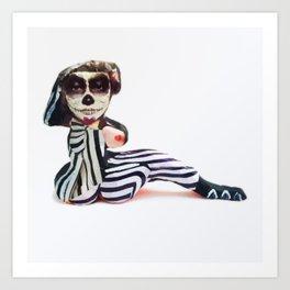 Beeldje - Maria DeVet Art Print