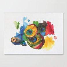 Colorful fish 3 Canvas Print