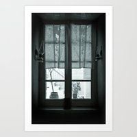 The back window Art Print