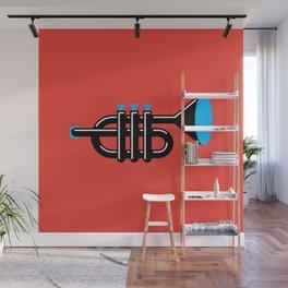 Trumpet Wall Mural