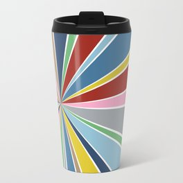 Star Burst Color Travel Mug