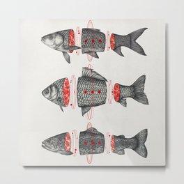 Sashimi All Metal Print