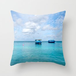 Dhonis Day Off Throw Pillow