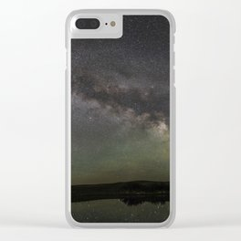 Milky Way Reflection Clear iPhone Case