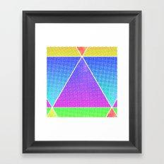 tri-double double Framed Art Print
