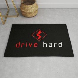 Drive Hard v1 HQvector Rug