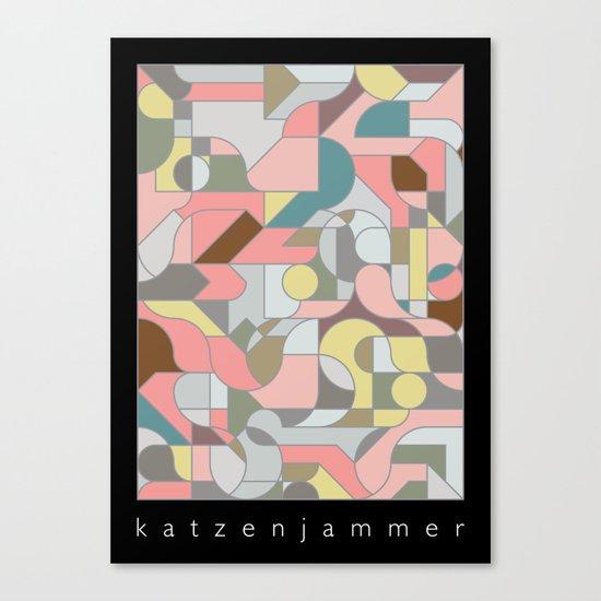 Katzenjammer Canvas Print
