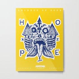 Legends of Hope: Tale of The Towers (Narragansett, Rhode Island) Metal Print