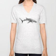 Whale Shark Unisex V-Neck