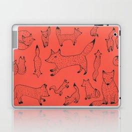Orange foxes Laptop & iPad Skin