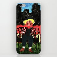 central park iPhone & iPod Skins featuring Central Park by Mile