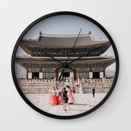 Gyeongbokgung: Korean Palace Wall Clock
