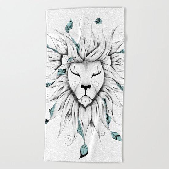 Poetic King Beach Towel