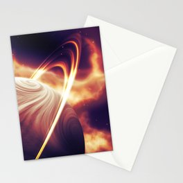 Nameless Blaze Stationery Cards
