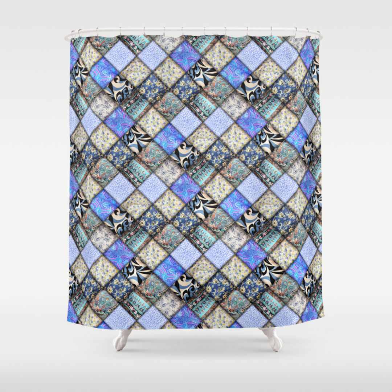 Shower curtain quilt pattern - Shower Curtain Quilt Pattern 50