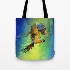 Macaw fantasy Tote Bag