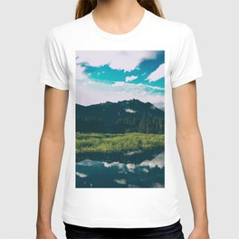 North Cascades Hidden Lake T-shirt