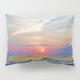 Naples Florida sunset on the Gulf of Mexico Pillow Sham