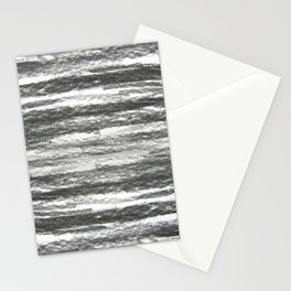 abstract charcoal drawing Stationery Cards