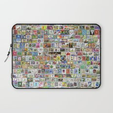 Soccer Stamps Laptop Sleeve