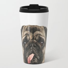 Cheeky Pug Travel Mug