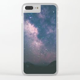 Milky Way III Clear iPhone Case