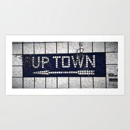 uptown Art Print