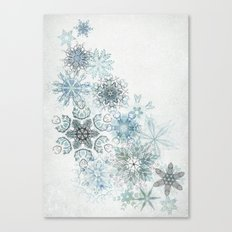 The Forest Drift Canvas Print