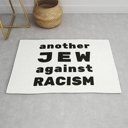Another Jew Against RACISM - Jewish Activist Design Rug
