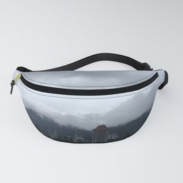 Beautiful clouds over the Malaysian city Fanny Pack