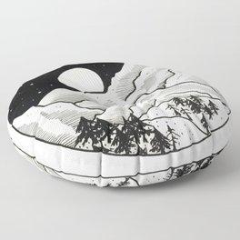 Nightscape Floor Pillow
