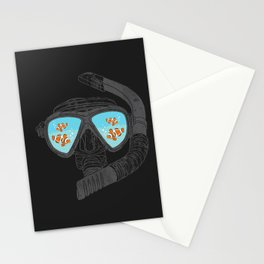 Underwater Attractions  Stationery Cards