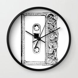 vintage k7 Wall Clock
