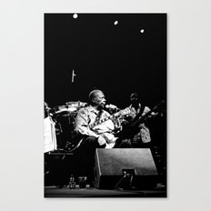 B.B. King on stage Canvas Print