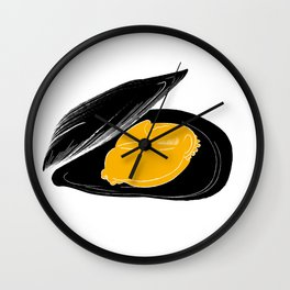 mussel for friends Wall Clock