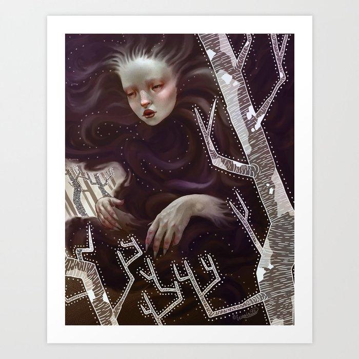 Shadow Shadow Art Print