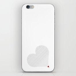 Heart (13) iPhone Skin