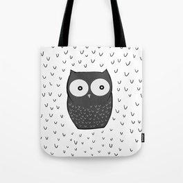 Floating Owl Tote Bag