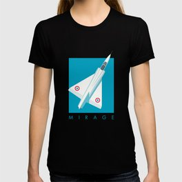 Mirage III Fighter Jet - Cyan T-shirt