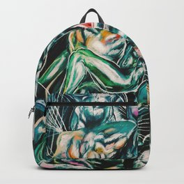 Abstraction of Figures Backpack