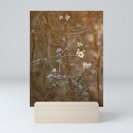 first blossoms Mini Art Print