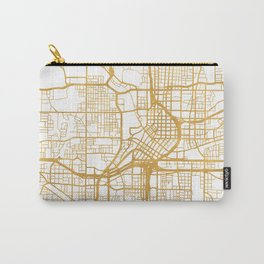 ATLANTA GEORGIA CITY STREET MAP ART Carry-All Pouch