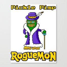 Pickle Pimp Canvas Print